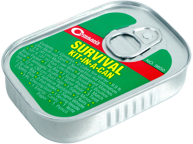Coghlans Kit-in-a-Can Survival Kit